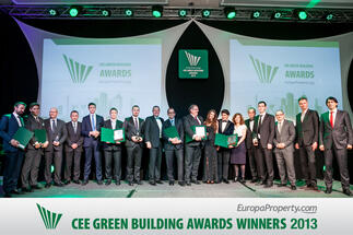 Best of sustainable development recognised at EuropaProperty's 3rd annual CEE Green Building Awards