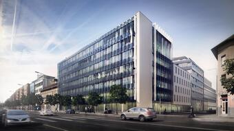Skanska launched its Nordic Light office project in Budapest