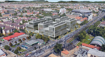 The construction and leasing of Aréna Business Campus is in full swing