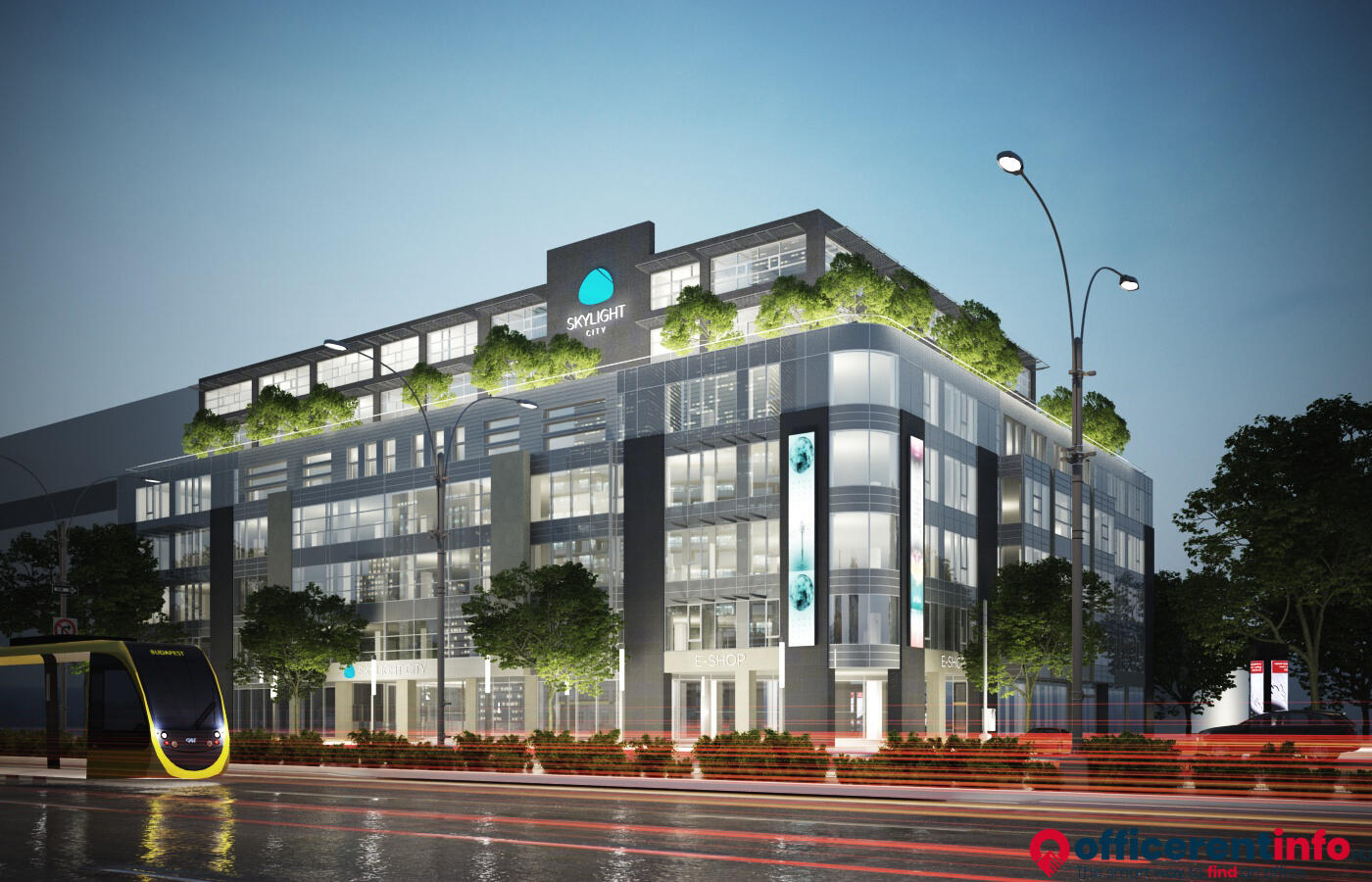 WING launches Skylight CITY office building development