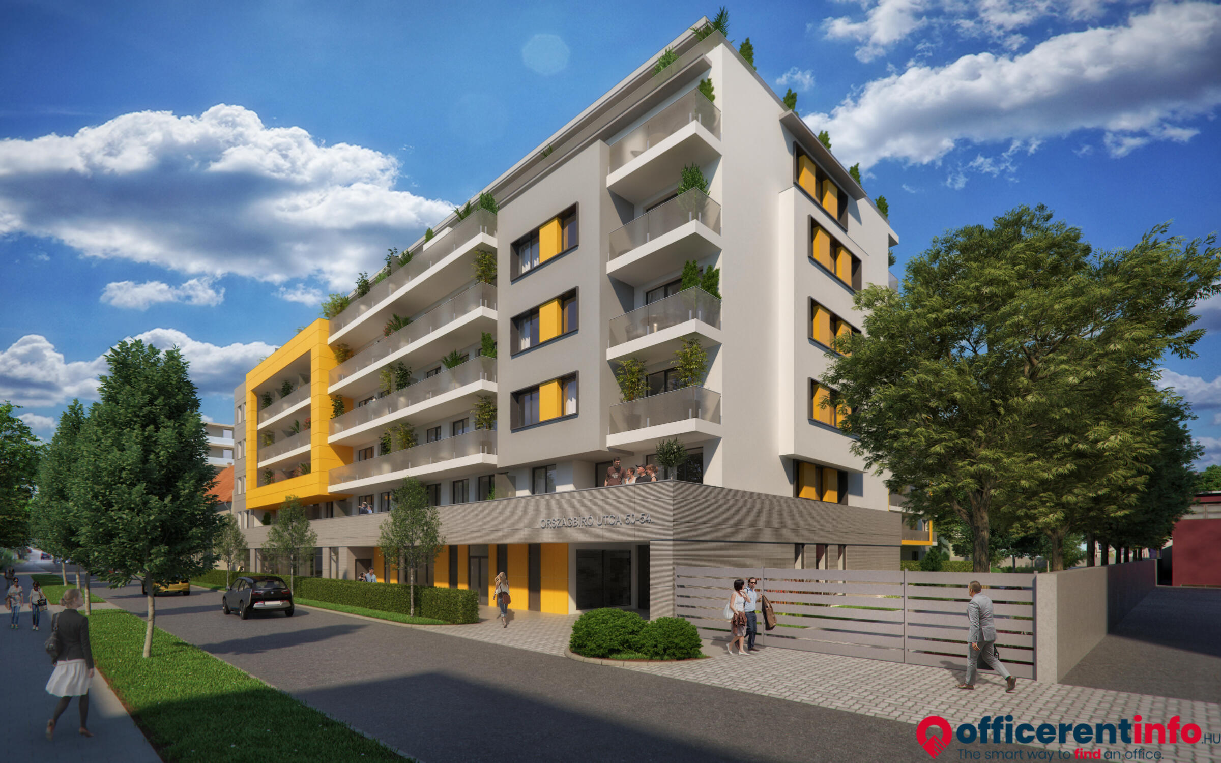 Metropolitan Garden  new apartment complex to be built in Budapest ... 04c78a9e67