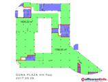 Offices to let in Duna Plaza Office